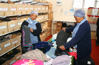 Missionvale Care Centre clothing warehouse